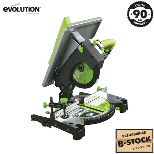 Evolution FURY6 210mm Table/Mitre Saw (B-Stock) - Evolution Power Tools Ltd.