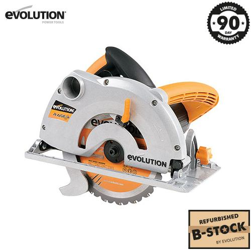 Evolution RAGE-B 185mm Circular Saw (B-Stock) - Evolution Power Tools Ltd.