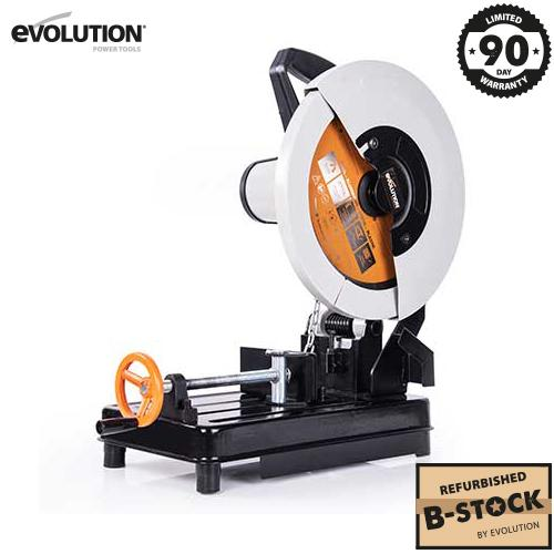 RAGE2 355mm Chop Saw (Refurbished - Like New) - Evolution Power Tools