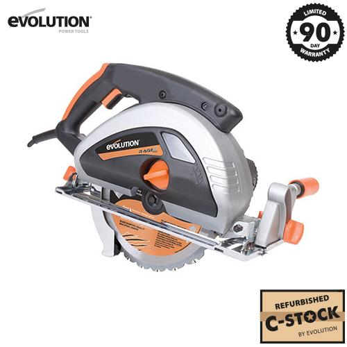 Evolution RAGE230 230mm Circular Saw with TCT Multi-Material Cutting Blade (Refurbished - Fair Condition) - Evolution Power Tools