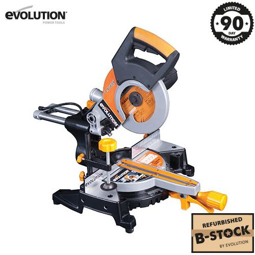 Evolution RAGE3-S 210mm Sliding Mitre Saw (B-Stock) - Evolution Power Tools Ltd.