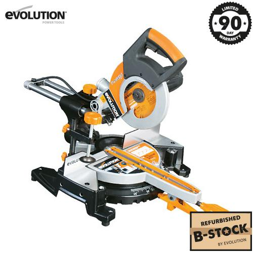 Evolution RAGE3-S300 210mm Sliding Mitre Saw (B-Stock) - Evolution Power Tools Ltd.