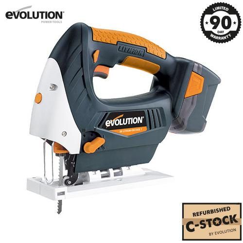 Evolution RAGE7 18v Li-Ion Jigsaw with Charger (C-Stock) - Evolution Power Tools Ltd.
