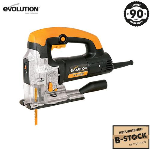 Evolution RAGE7-S 710W Jigsaw (B-Stock) - Evolution Power Tools Ltd.