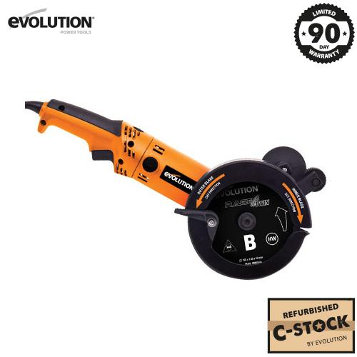 Evolution RAGETWIN155 155mm Dual Blade Saw (C-Stock) - Evolution Power Tools