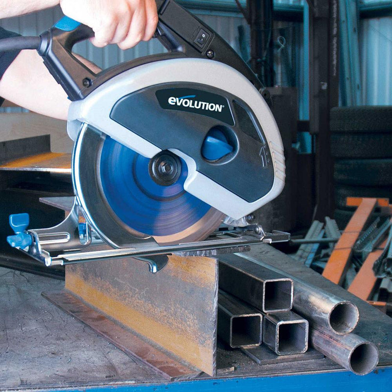 Evolution EVOSAW230 - 230mm Circular Saw with TCT Mild Steel Cutting Blade - Evolution Power Tools UK