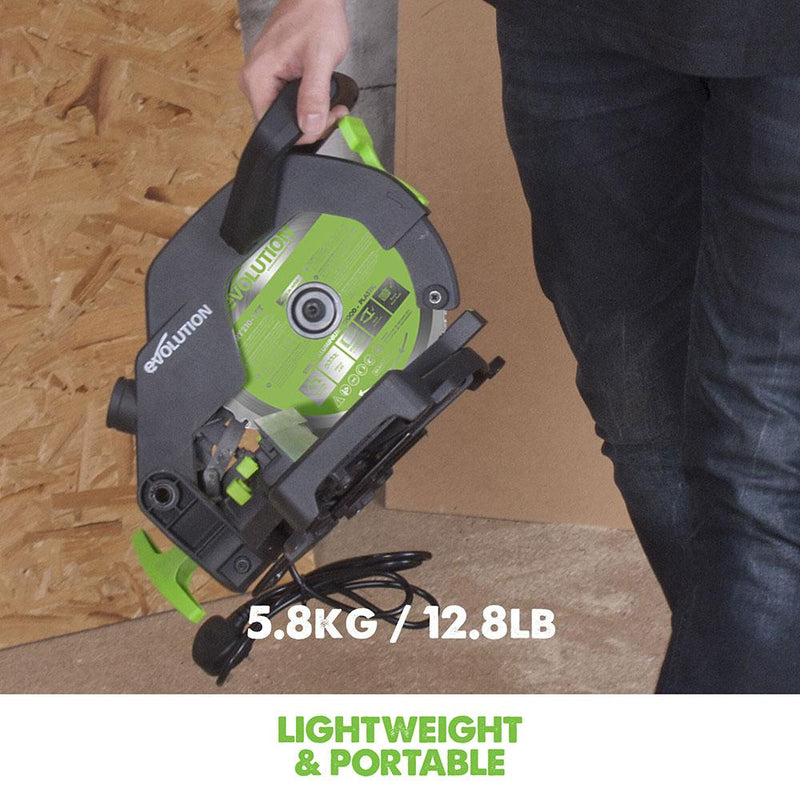 F210CMS - 210mm Compound Mitre Saw - Evolution Power Tools Ltd.