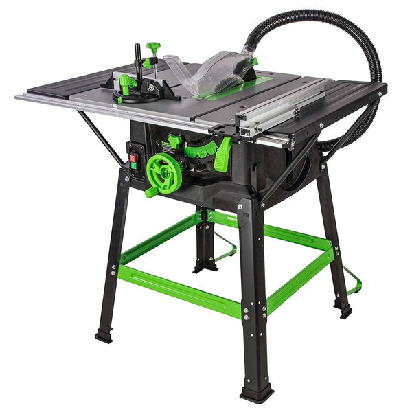 FURY5-S - 255mm Table Saw With TCT Multi-Material Cutting Blade (230v) - Evolution Power Tools