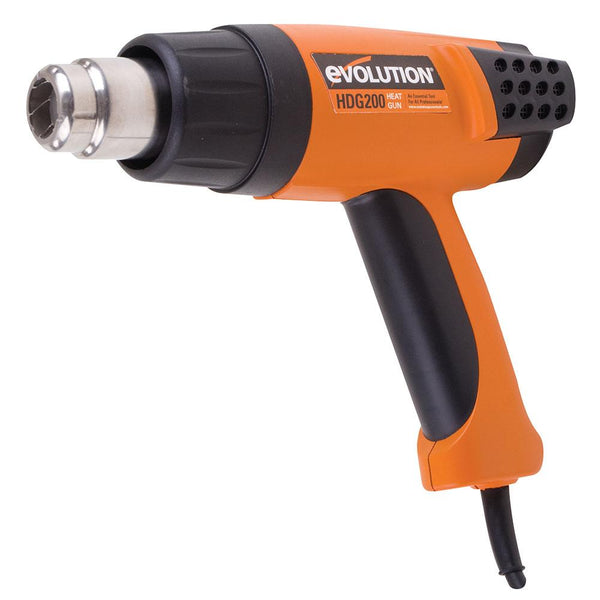 Evolution HDG200 Adjustable Digital Heat Gun (230v) - Evolution Power Tools