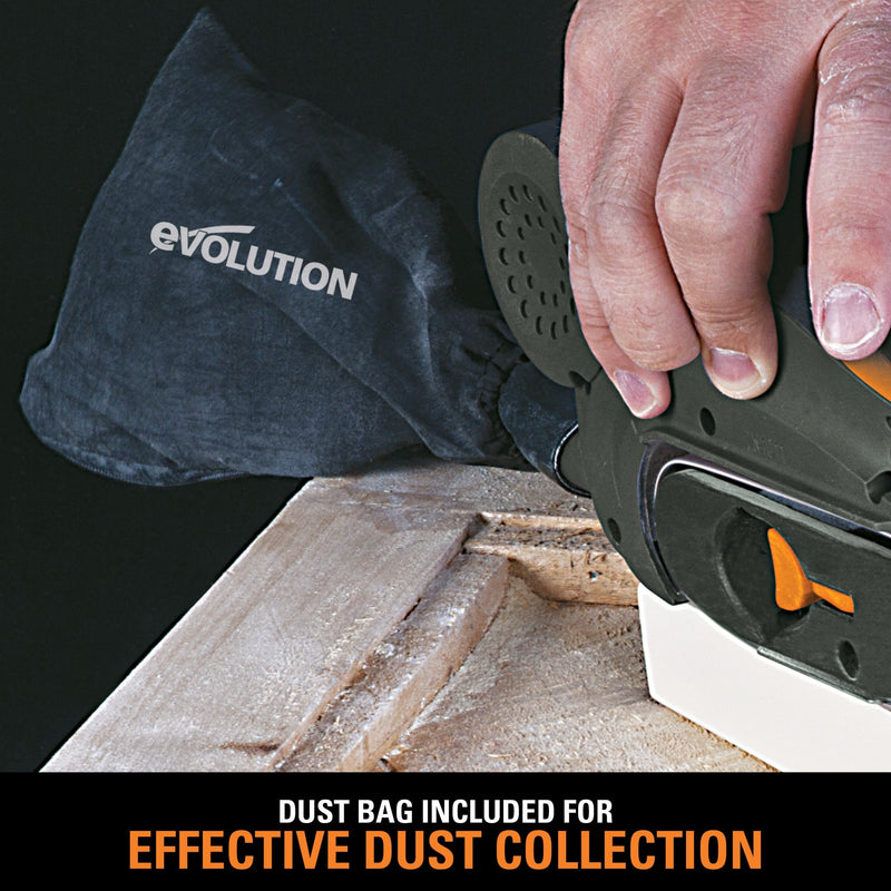 Evolution Mini Belt Sander (230v) (Discontinued) - Evolution Power Tools