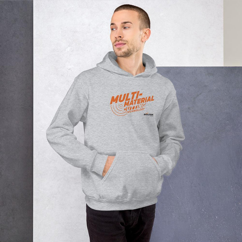 Multi-Material Cutting Hoodie - Evolution Power Tools