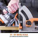 R165CCSL - 165mm Circular Saw - Evolution Power Tools
