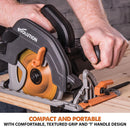 Evolution R185CCS 185mm Circular Saw with TCT Multi-Material Cutting Blade - Evolution Power Tools UK