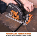Evolution R185CCS 185mm Circular Saw with TCT Multi-Material Cutting Blade - Evolution Power Tools