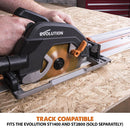 R185CCSX+ - 185mm Circular Saw - Evolution Power Tools