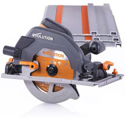 R185CCSX - 185mm Circular Saw with Track - Evolution Power Tools