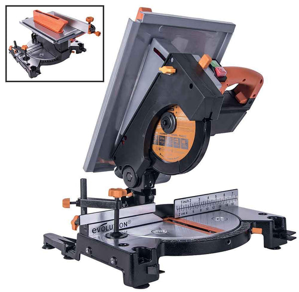Evolution R210MTS 210mm Mitre / Table Saw - Evolution Power Tools