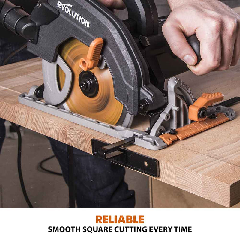 R210SMS+ 210mm Sliding Mitre Saw and R185CCS 185mm Circular Saw Bundle - Evolution Power Tools