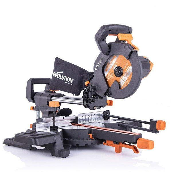 R210SMS-300+ Sliding Mitre Saw - Evolution Power Tools