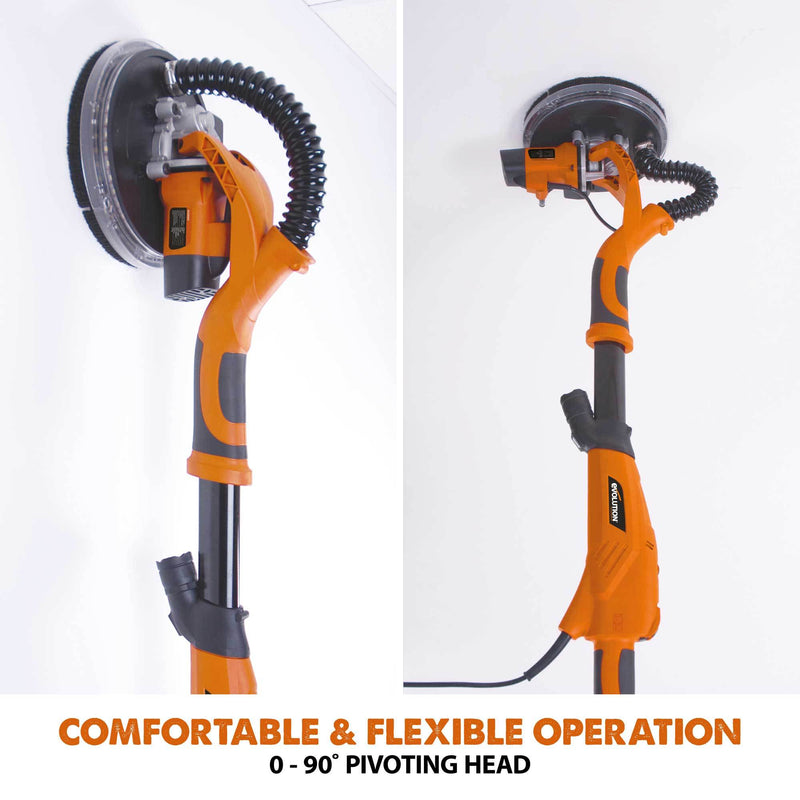 R225DWS - Telescopic Dry Wall Sander - Evolution Power Tools