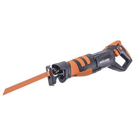 Evolution R230RCP Reciprocating Saw with 4 Blades (230v) - Evolution Power Tools