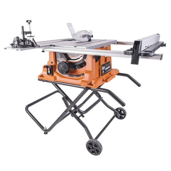 R255PTS - 255mm Table Saw With TCT Multi-Material Cutting Blade - Evolution Power Tools