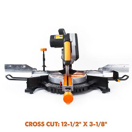 RAGE3-DB - 255mm Double Bevel Sliding Mitre Saw (Discontinued) - Evolution Power Tools
