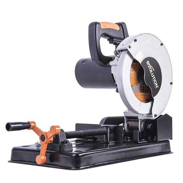 RAGE4 - 185mm Chop Saw with TCT Multi-material Cutting Blade - Evolution Power Tools
