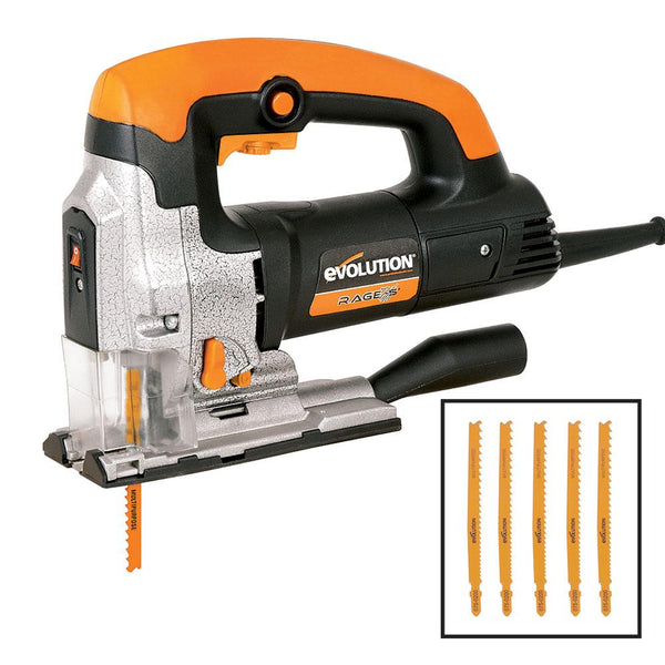 Evolution RAGE7-S 710W Jigsaw - Evolution Power Tools UK