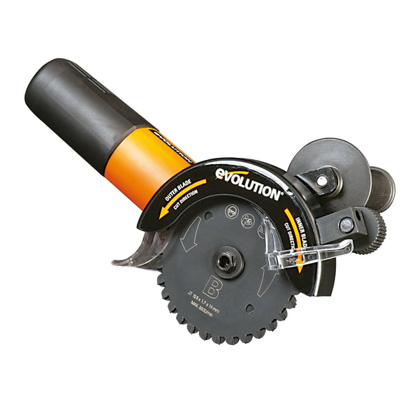 RAGETWIN125: 125mm dual blade saw (Discontinued) - Evolution Power Tools