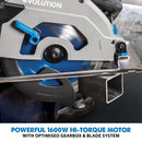 Evolution S185CCSL 185mm Circular Saw with TCT Mild Steel Cutting Blade - Evolution Power Tools