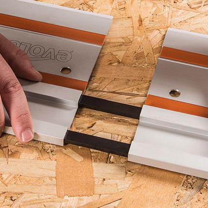 Evolution Track Connecting Bars x2 - Evolution Power Tools UK