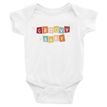 """Groovy Baby"" -Infant Bodysuit"