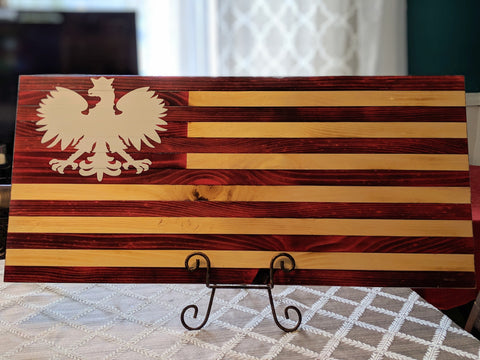 Polish Falcon Dyngus Day Flag