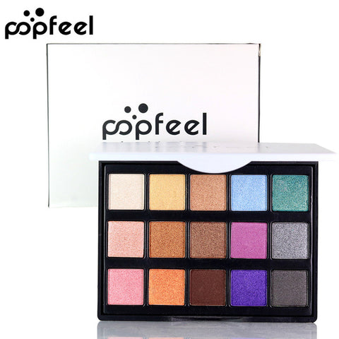 15 Colors Nude Eyeshadow Palette