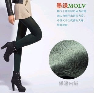 Winter High Elasticity Leggings - Good Quality