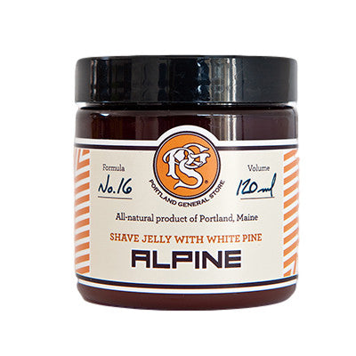 ALPINE Shave Jelly with White Pine