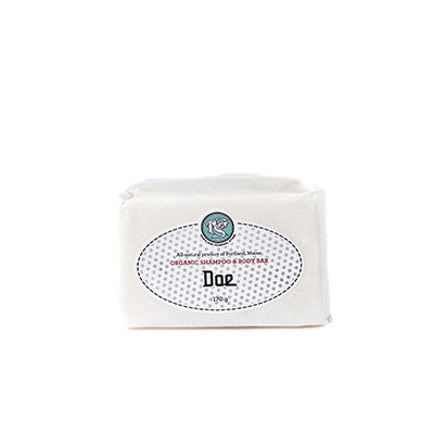 Doe Organic Shampoo and Body Bar