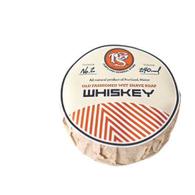 WHISKEY wet shave puck