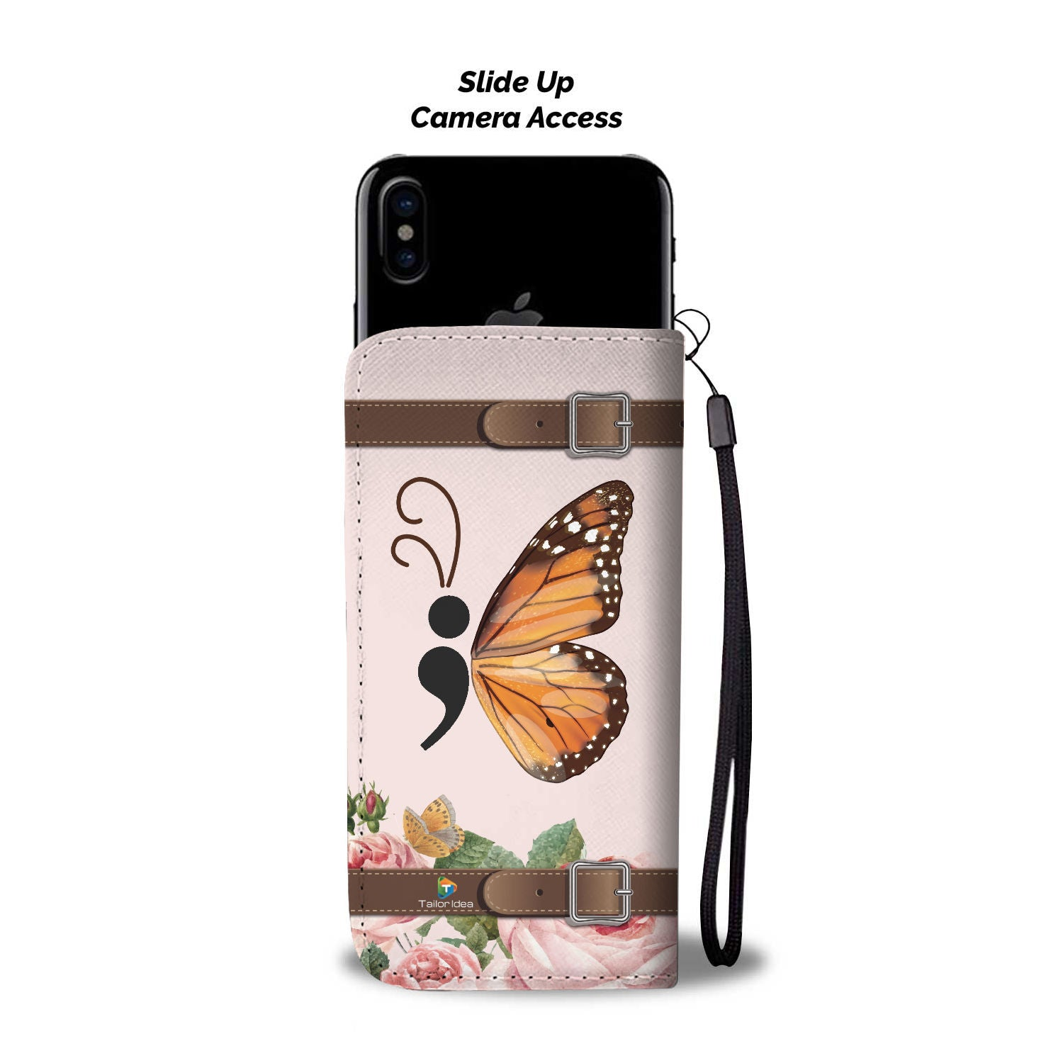 f7876979e3 Butterfly - RFID Wallet Phone Case – Tailor Idea
