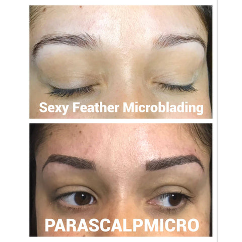 eyebrow tattoo before and after best Microblading Eyebrows new york city nyc tattoo permanent makeup cosmetics NJ PA CT long island beautiful top micropigmentation