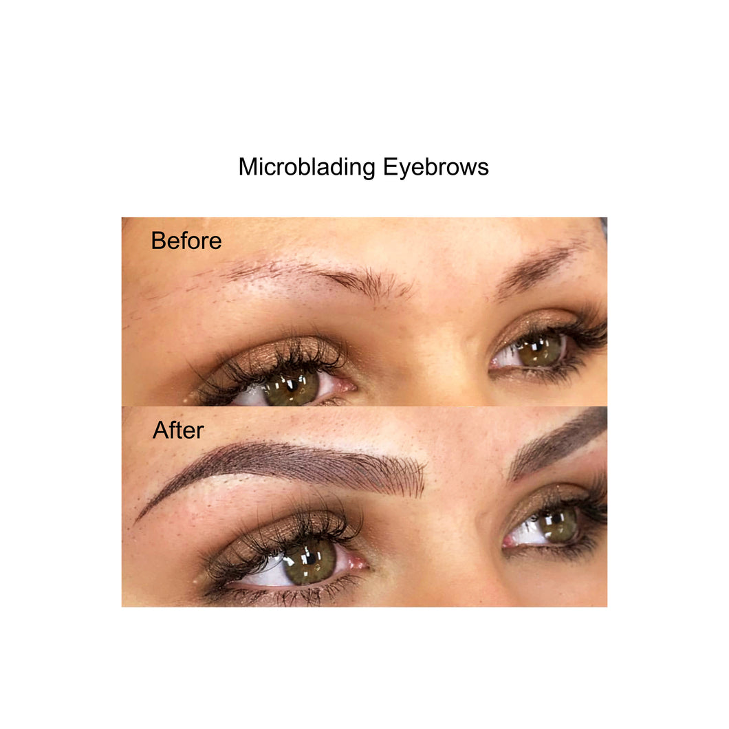 Microblading with 6 to 8 weeks touchup (2 sessions) - parascalpmicro
