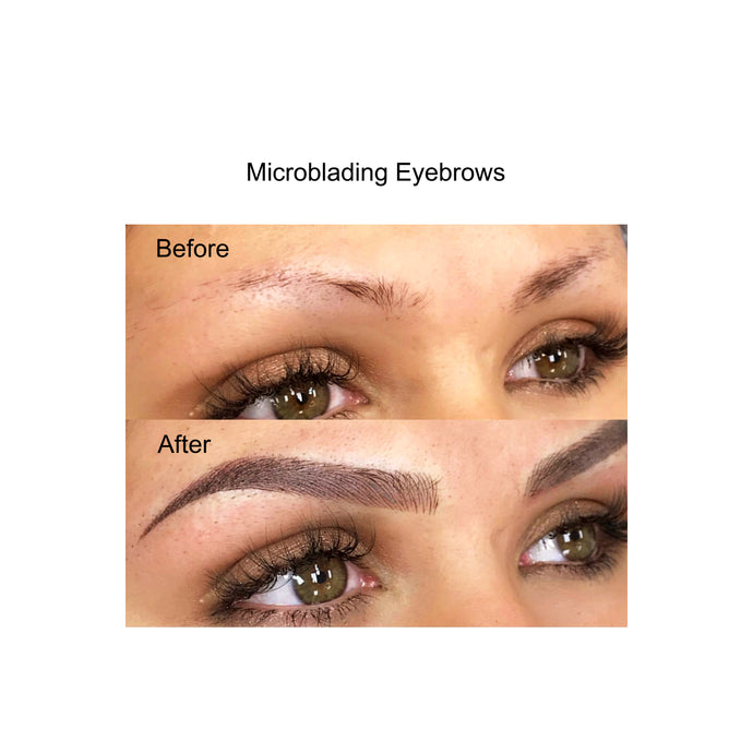 Single Session Microblading no touchup - parascalpmicro