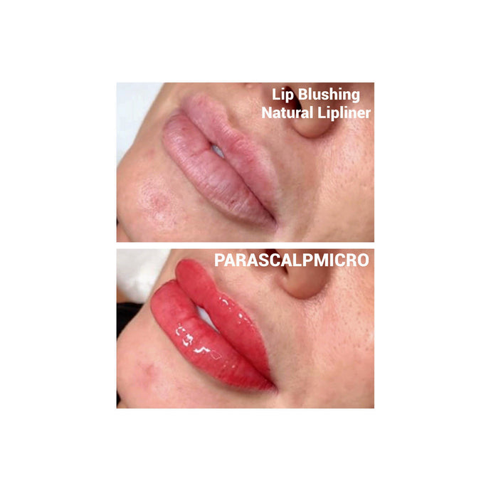 Lip Blushing & Natural Lipliner Micropigmentation - parascalpmicro