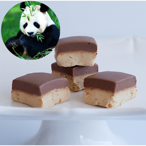 PANDA BEAR (Chocolate Peanut Butter) FUDGE