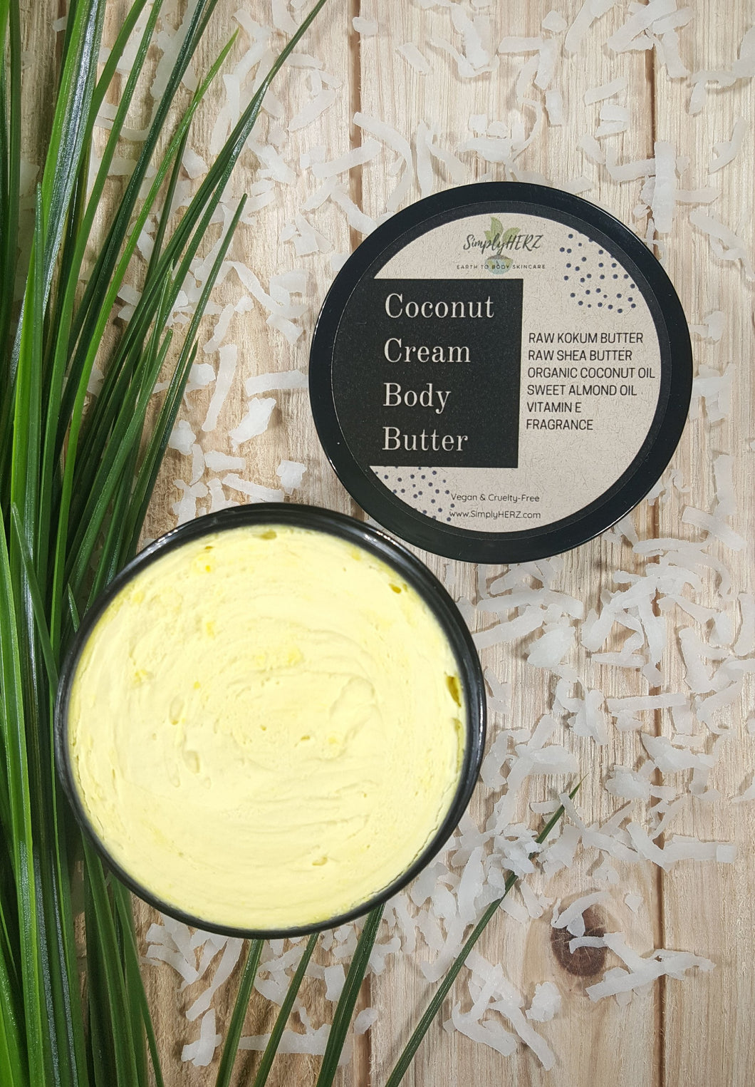 Simply Herz Coconut Body Butter