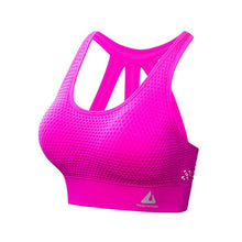 Load image into Gallery viewer, BINAND Women Solid Push up Sexy Shockproof Sports Bra Elastic Backless Breathable Quick Dry Full Cup Workout Gym Yoga Tank Top