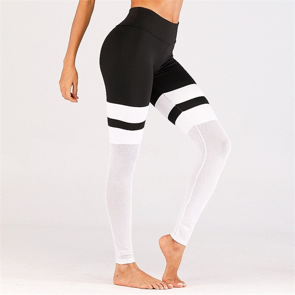 High Waist Yoga Contrast Set
