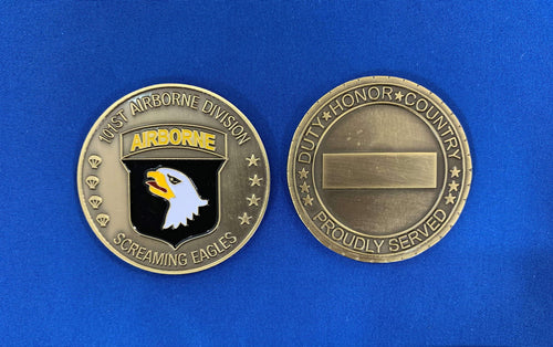 101st ABN - Follow Me Coin