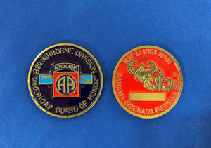 82nd ABN Division Coin
